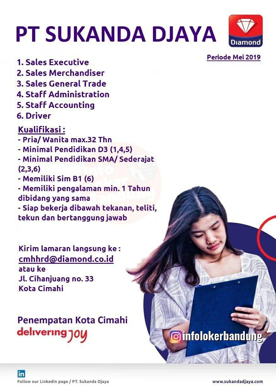 Lowongan Kerja PT. Sukanda Djaya Cimahi Mei 2019