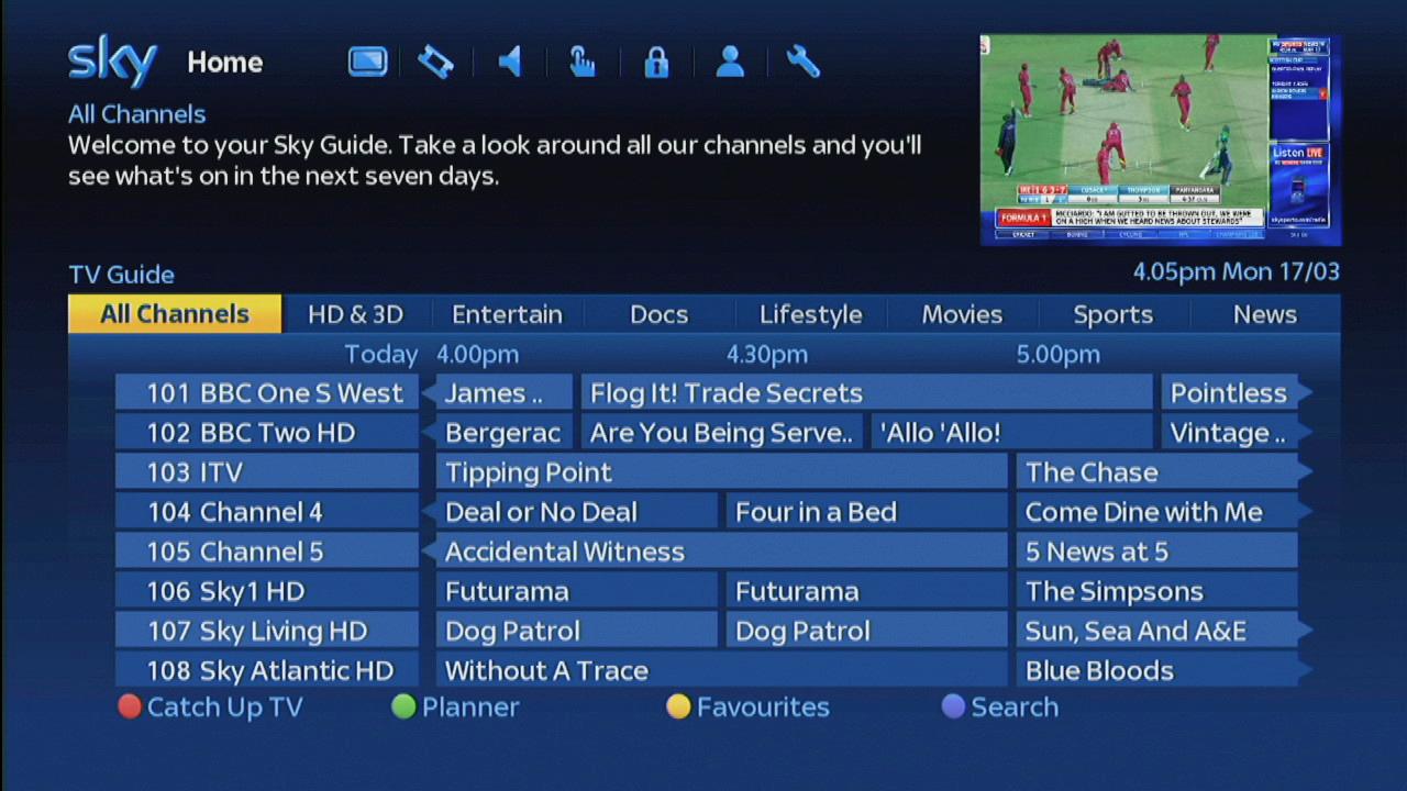 Sky uk channels fixed - Sky channels fixed 2017