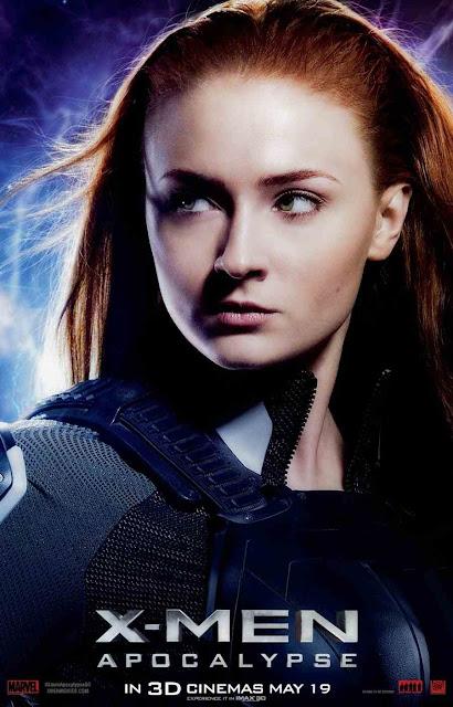Sophie Turner es Jean Grey en X-Men: Apocalypse