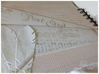 wykronik pióra piórka pióro, beżowe papiery do scrapbookingu Magiczna Kartka