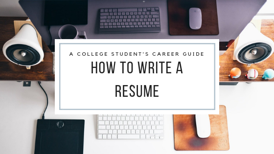 Career advice for college students. This blog post will give you resume template, resume tips, resume design, and resume examples. Improve your resume skills with this blog post.