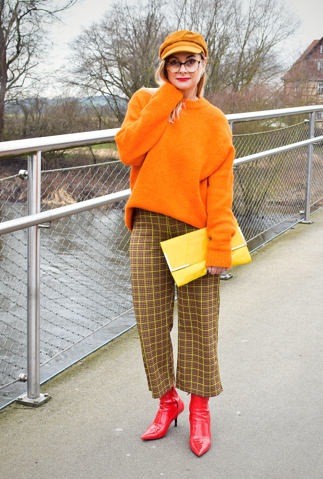 Outfitinso in Orange, Orange richtig stylen
