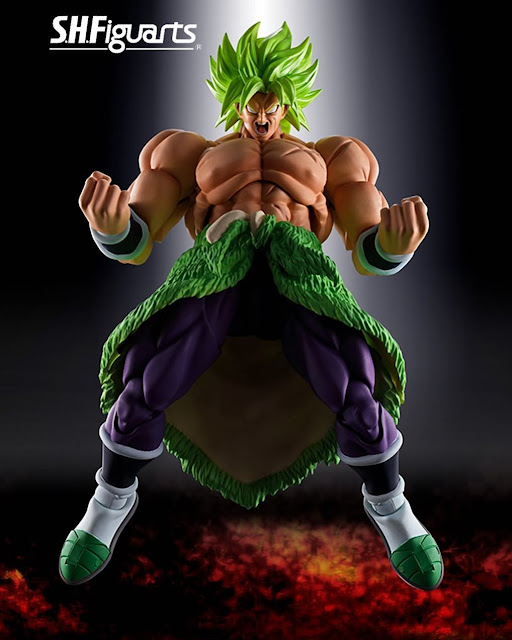 S.H.Figuarts Broly Dragon Ball Super
