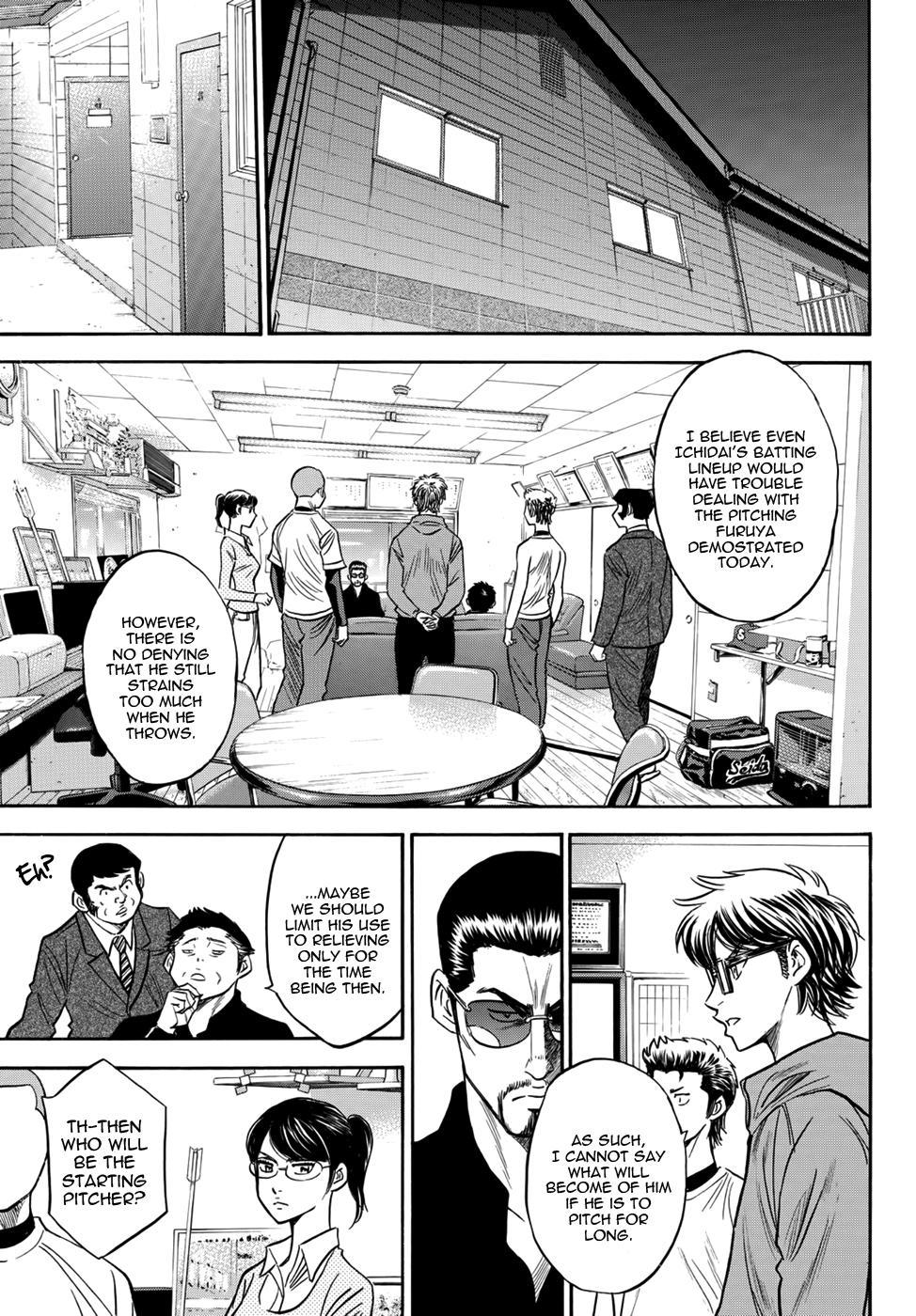 Daiya no A - Act II - Chapter 31
