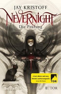 Bücherblog. Rezension. Buchcover. Nevernight - Die Prüfung (Band 1) von Jay Kristoff. Fantasy.