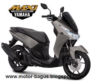 Harga dan spesifikasi motor Yamaha Lexi Baru