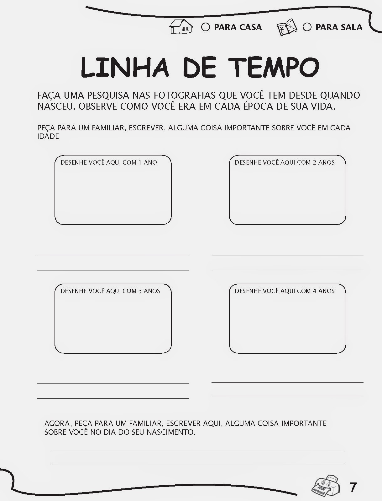 Jornal R 7ª Atividades De Alfabetização E Letramento Pré E 1 Ano