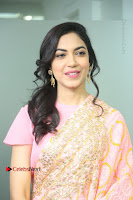 Actress Ritu Varma Pos in Beautiful Pink Anarkali Dress at at Keshava Movie Interview .COM 0117.JPG