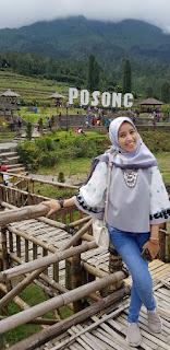 Puncak Posong, Memandang 7 Gunung dari Pos Pertahanan Pangeran Diponegoro