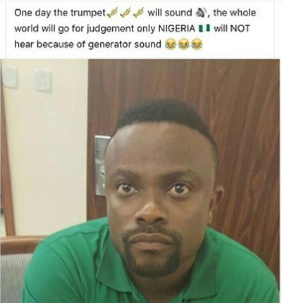 According to Okon Lagos, this is why many Nigerians will not go to heaven