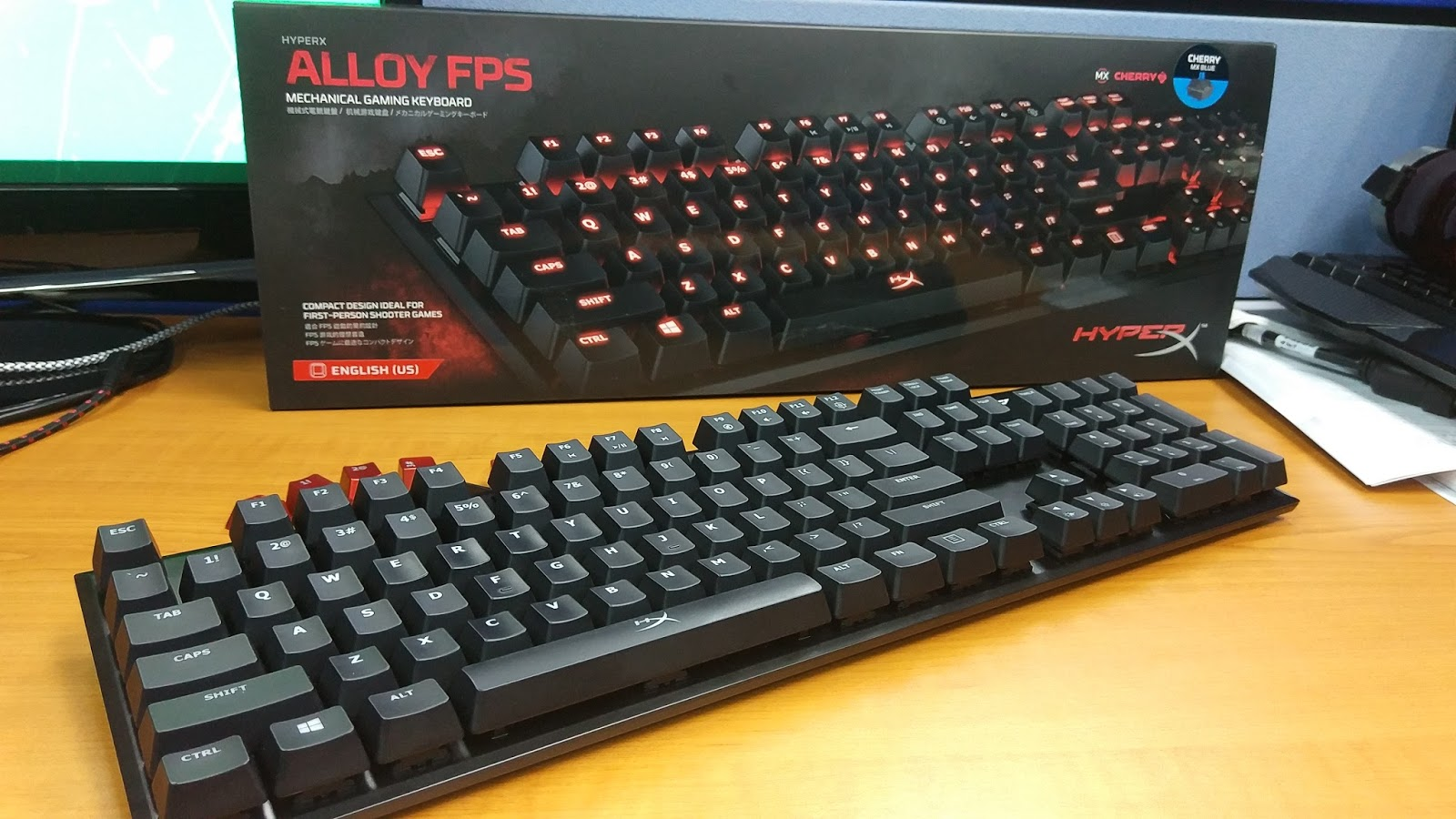 how to clean hyper x alloy keyboard