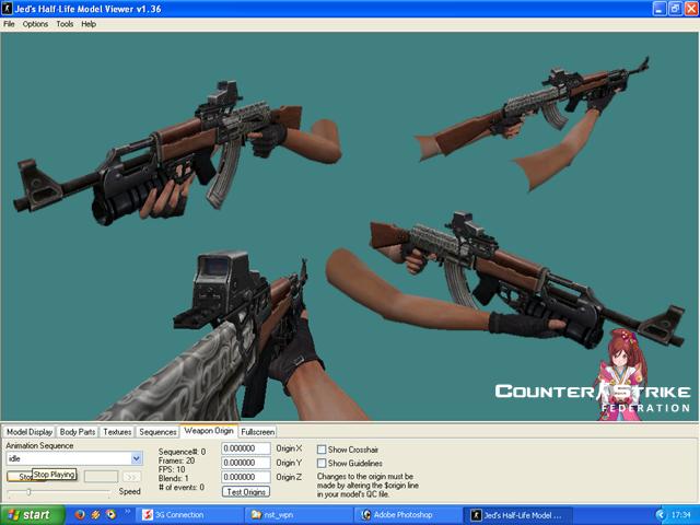 AK47 Full Custom Silver By Tegarhilmi™ - Assault Rifle