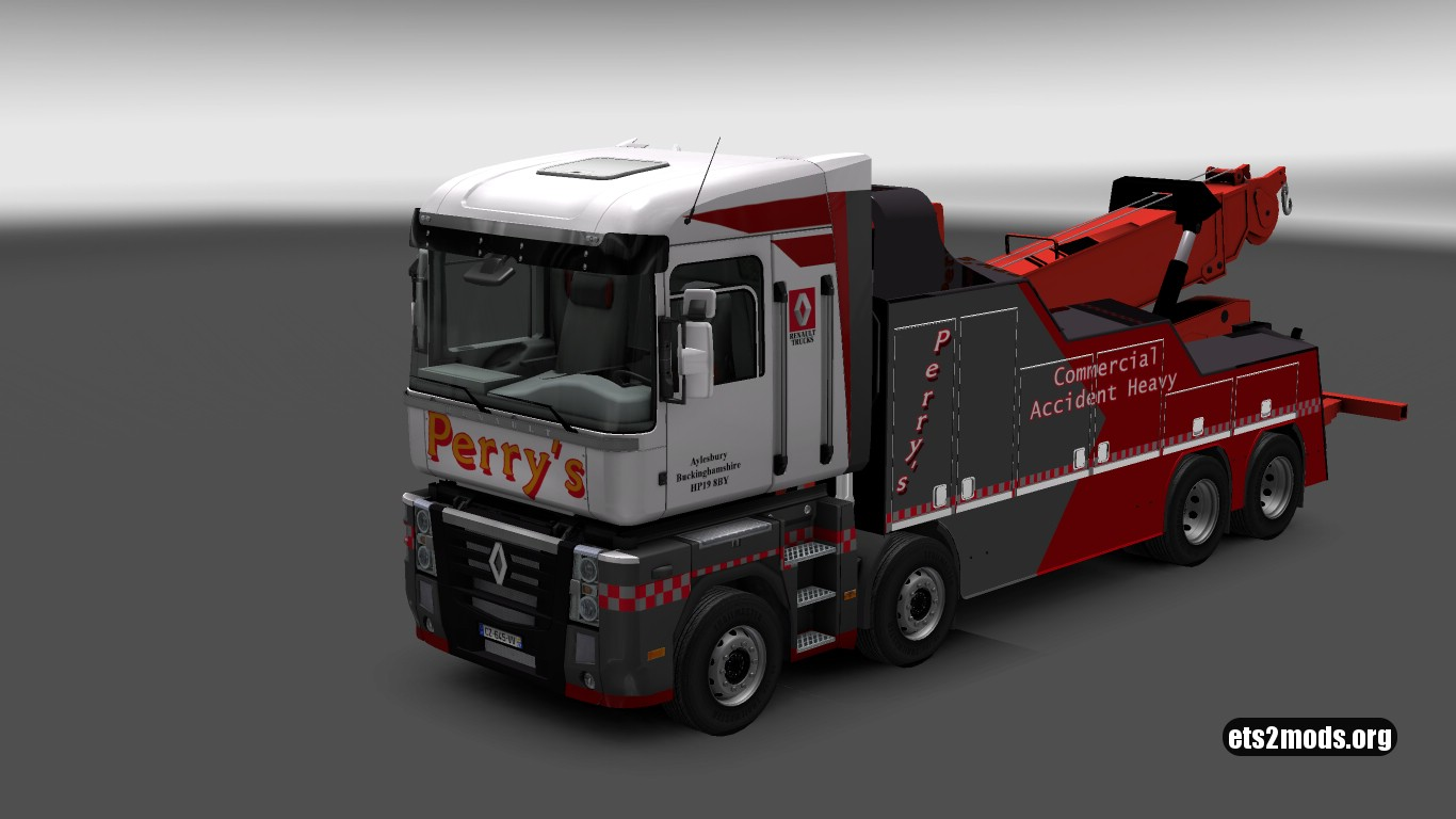 Wrecker Perry's Renault Magnum 2009
