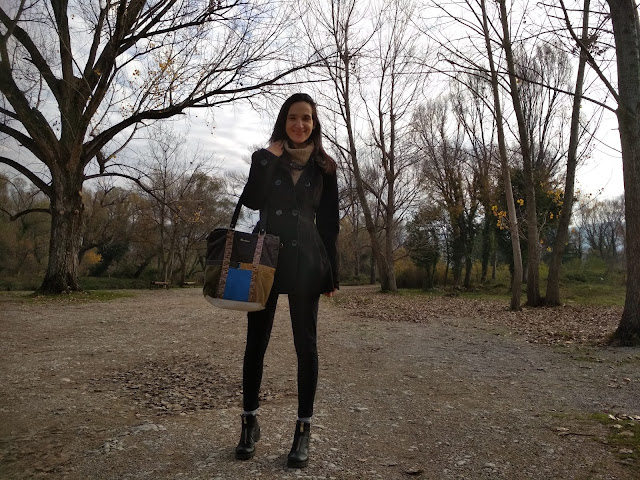 #turtleneck #boots #shortcoat #winter #smile