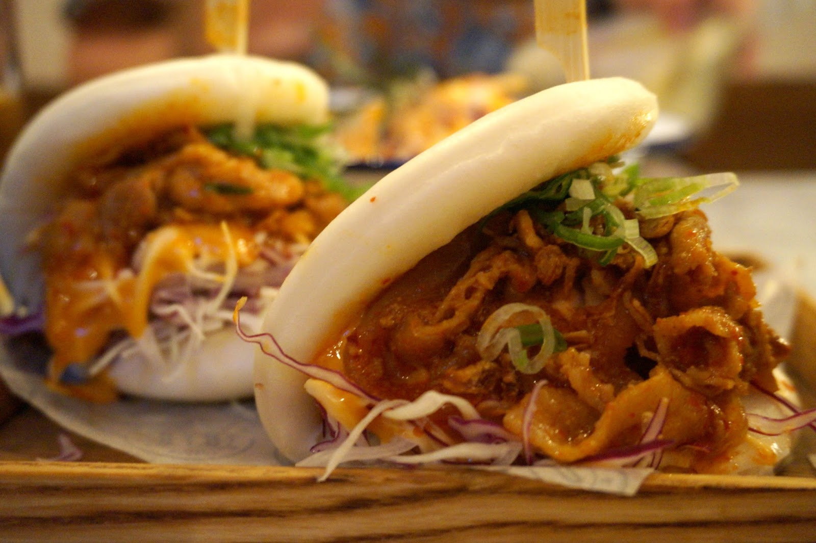 spicy pork steamed buns
