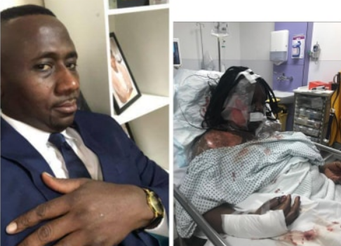 See How Ghanaian Man Butchered And Poured Hot Water on His Wife In London