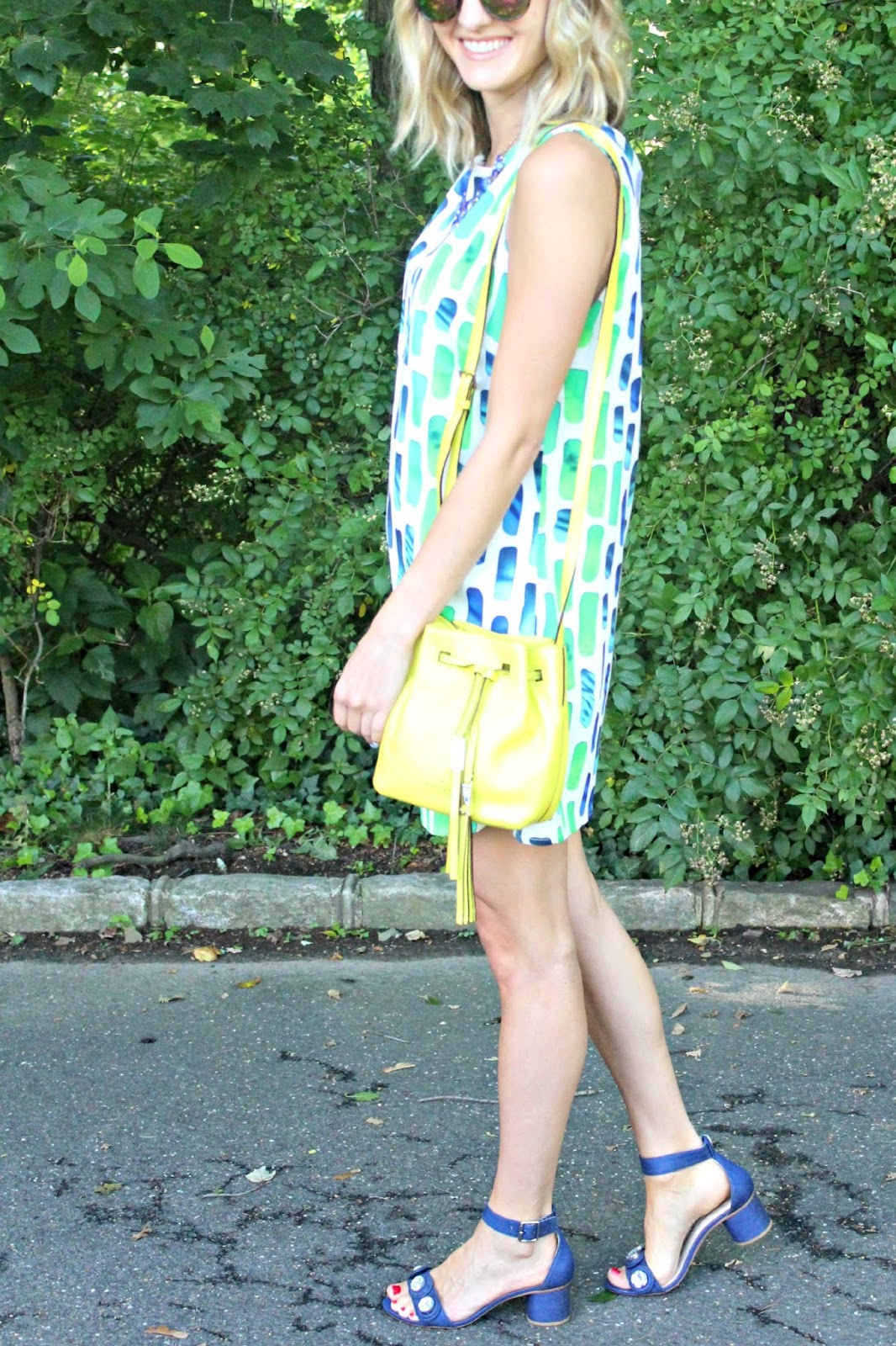 bright colored accessories