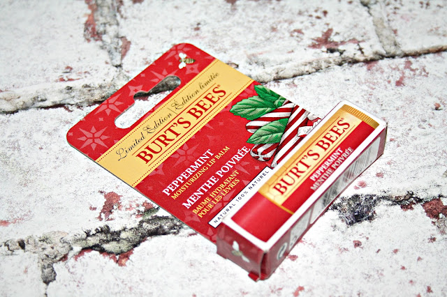 Burt's Bees Limited Edition Peppermint Lip Balm
