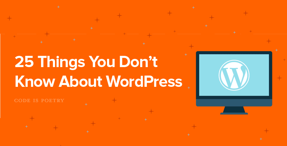 25 Interesting Facts About WordPress - #Infographic