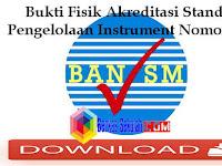 Bukti Fisik Akreditasi Standar Pengelolaan Instrument Nomor 119 dengan Penjelasannya
