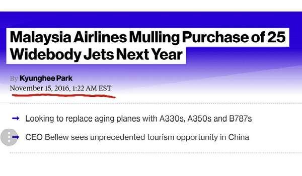 KWSP Tidak Terlibat Pembelian Pesawat Boeing Oleh MAS