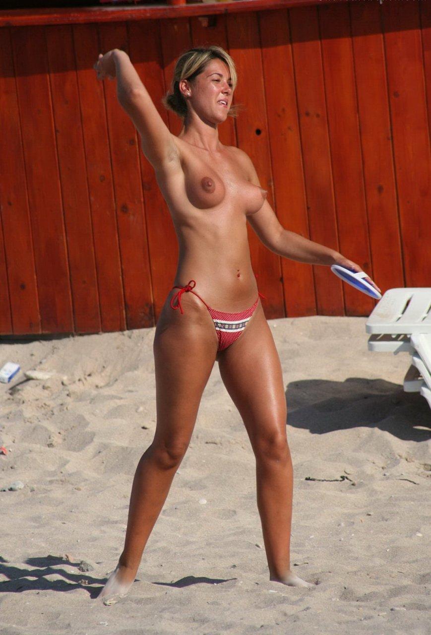 Teen Beach Tits