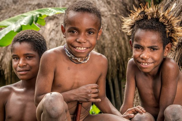 Incredible Photos With Glimpse Of Remote Tribe Whose Women Cut Off