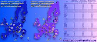 Topul statelor UE după remunerarea salariaților