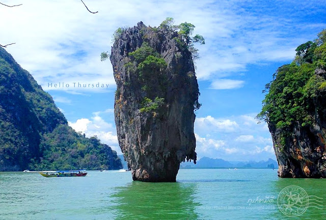 เขาตาปู, ภูเก็ต, ภูเก็ตมีดี, พังงา, James Bond Island, Koh Tapu, Phang Nga, Phuket, Thailand
