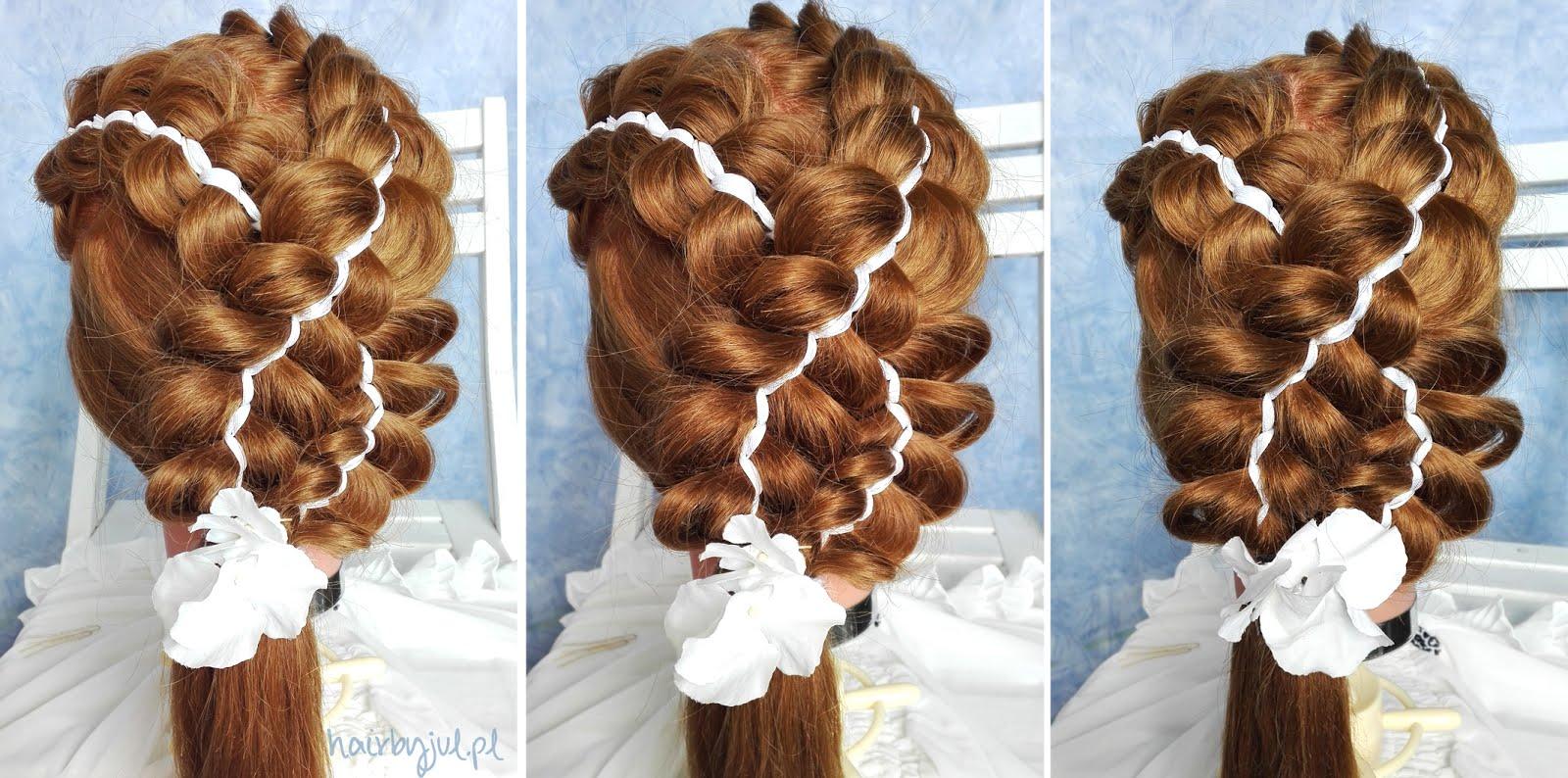Pomysły Na Fryzury Komunijne Inspiracje Hair By Jul