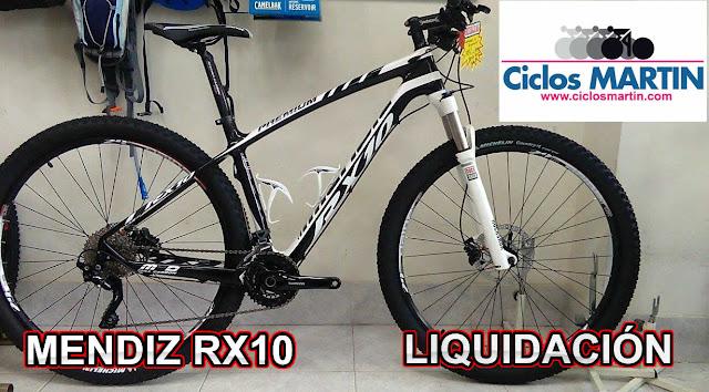 bicicleta Mendiz RX10 29