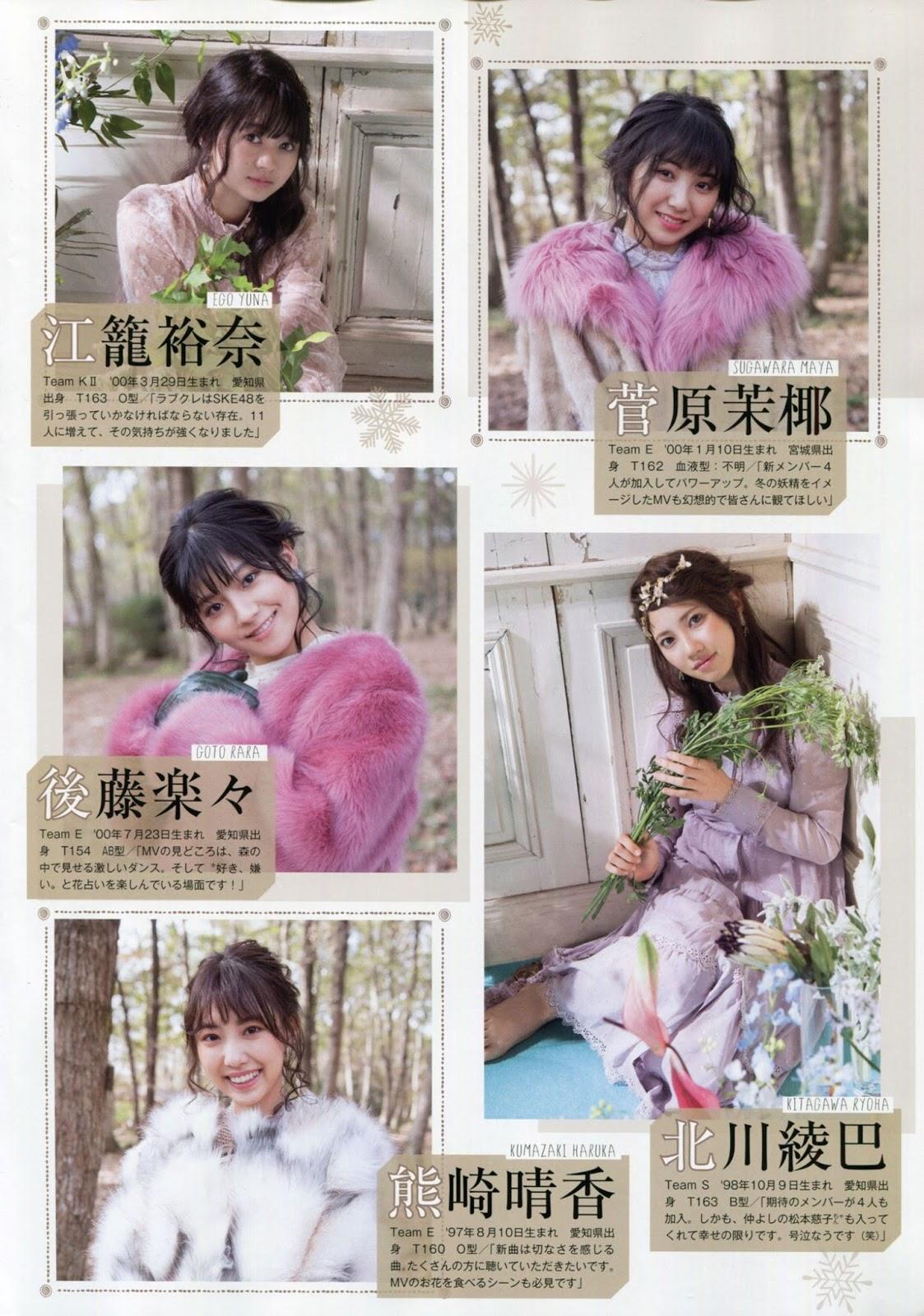 SKE48, FLASHスペシャルグラビアBEST 2018新春号