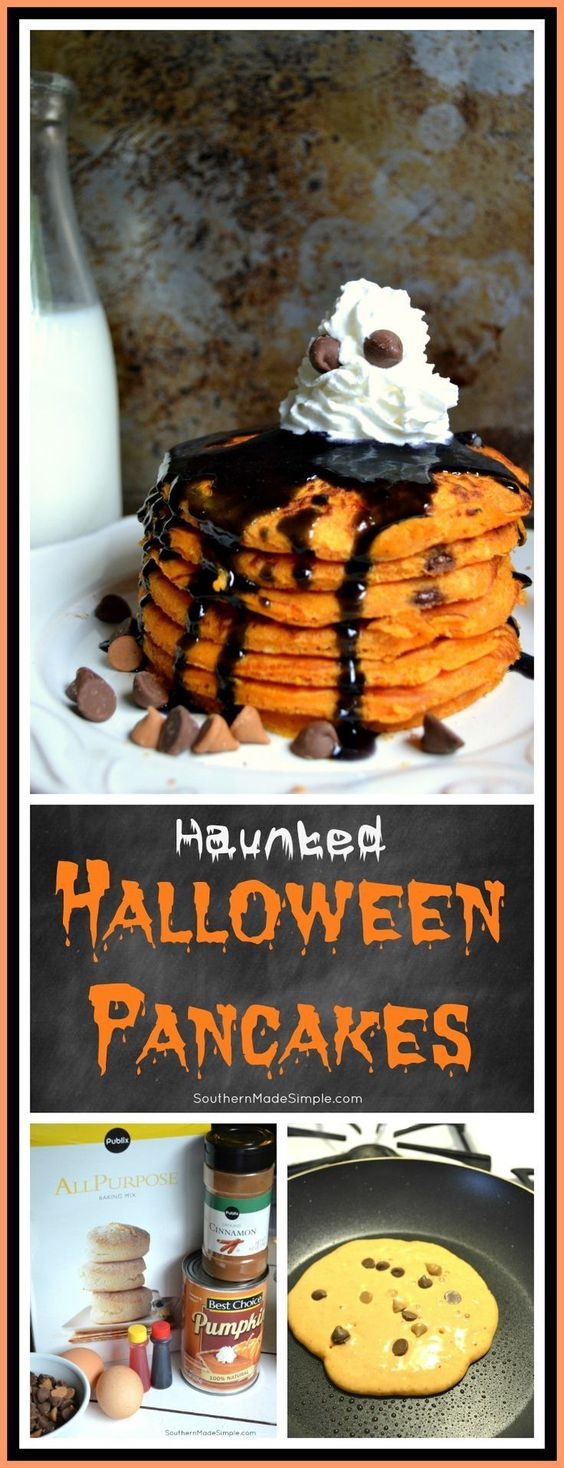 Haunted Halloween Pancakes Recipe