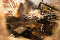 Transformers: The Last Knight Michael Bay Set Photo 5 (33)