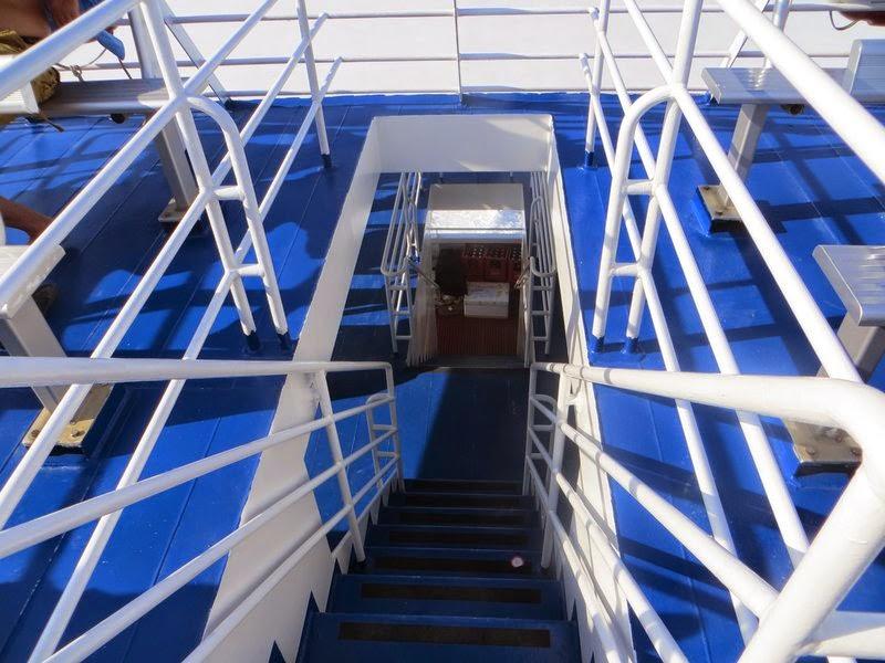 Лестница трех палубного судна
