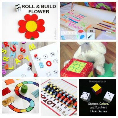 dice games activities