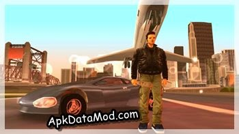 Grand Theft Auto III apk posing fake plane