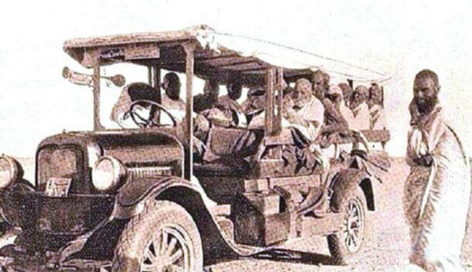 ini dia bus pertama yang gantikan unta saat ibadah haji heeboh situs