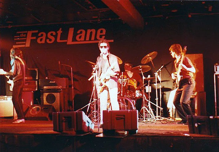 Tony Romeo and the Sinners on stage at The Fast Lane in Asbury Park, New Jersey