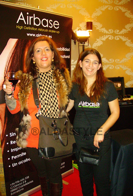 Red Carpet Beauty Party en Fortuny 1º Dic 2011.  Belleza y glamour a tope.