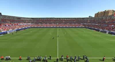 PES 2019 El Sadar Stadium by S. Elafify