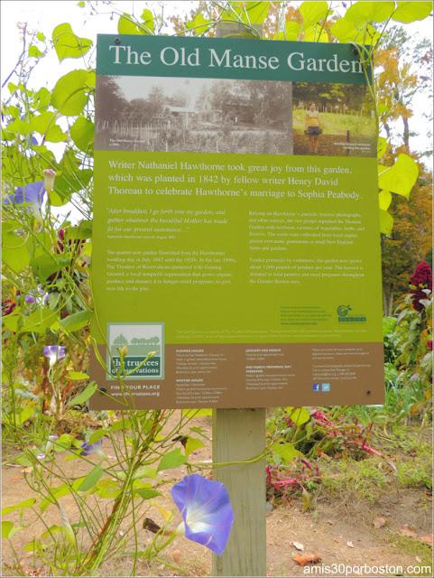 The Old Manse Garden