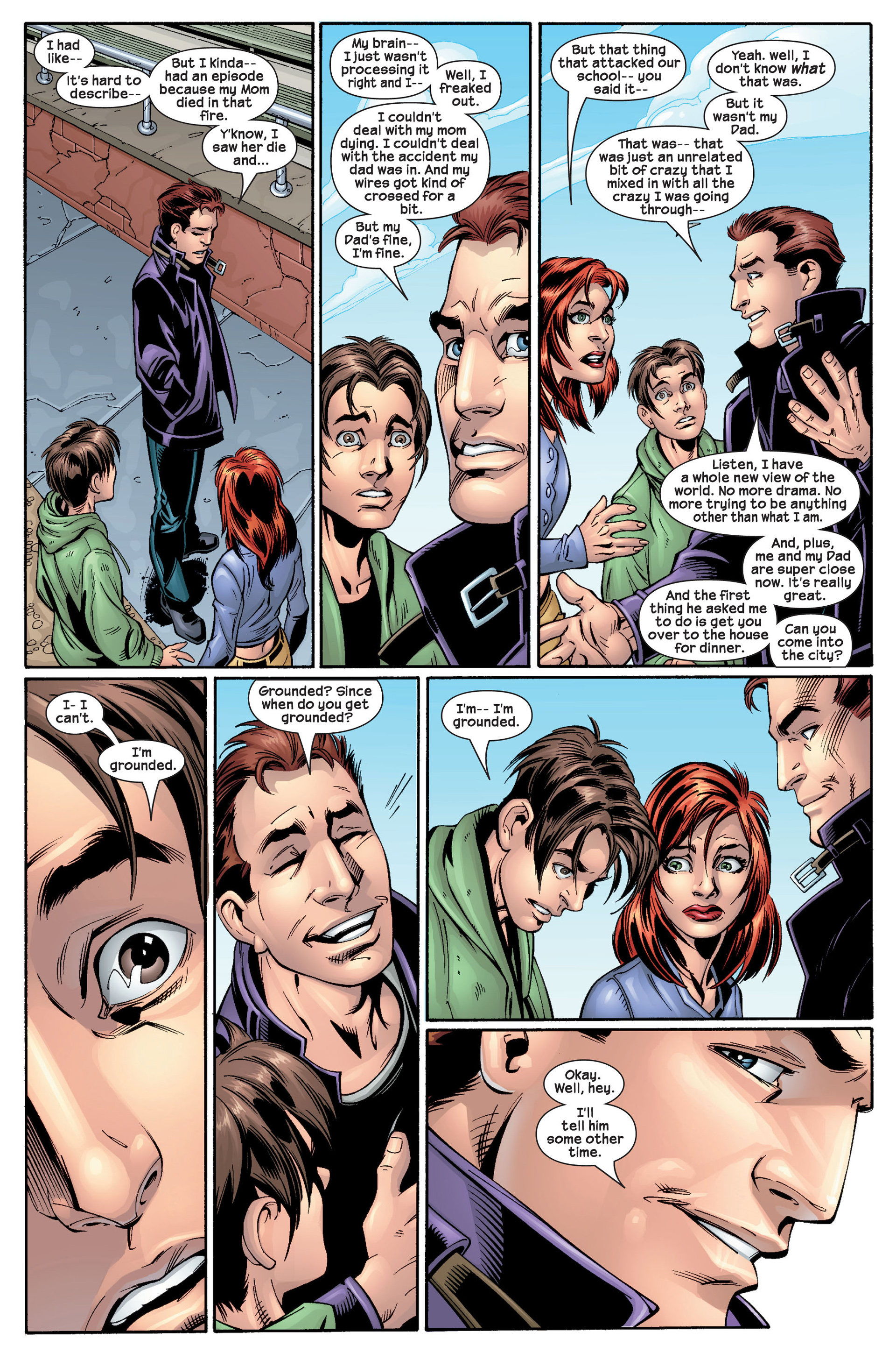 Read online Ultimate Spider-Man (2000) comic -  Issue #22 - 22