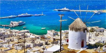 Come raggiungere l'isola di Mykonos
