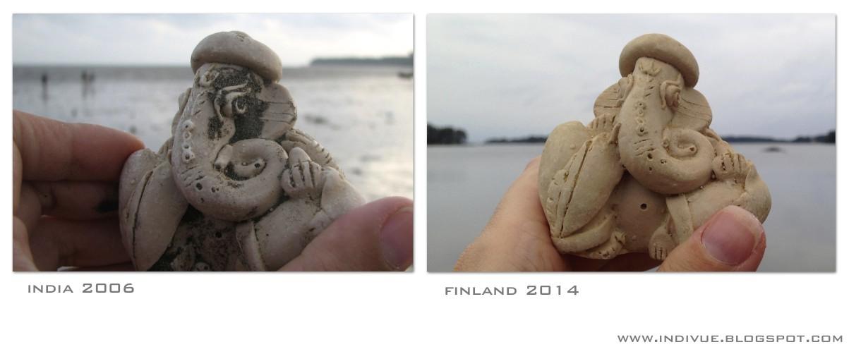 Ganesh-patsas Suomessa ja Intiassa