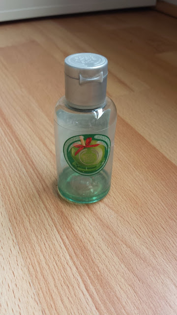 gel douche pomme glacé the body shop