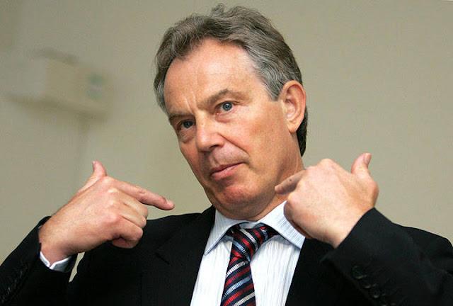 Tony Blair tem olhado para três potenciais locais próximos de Westminster para mudar a sua força de trabalho de 130 funcionários, o Sunday Times relatou hoje
