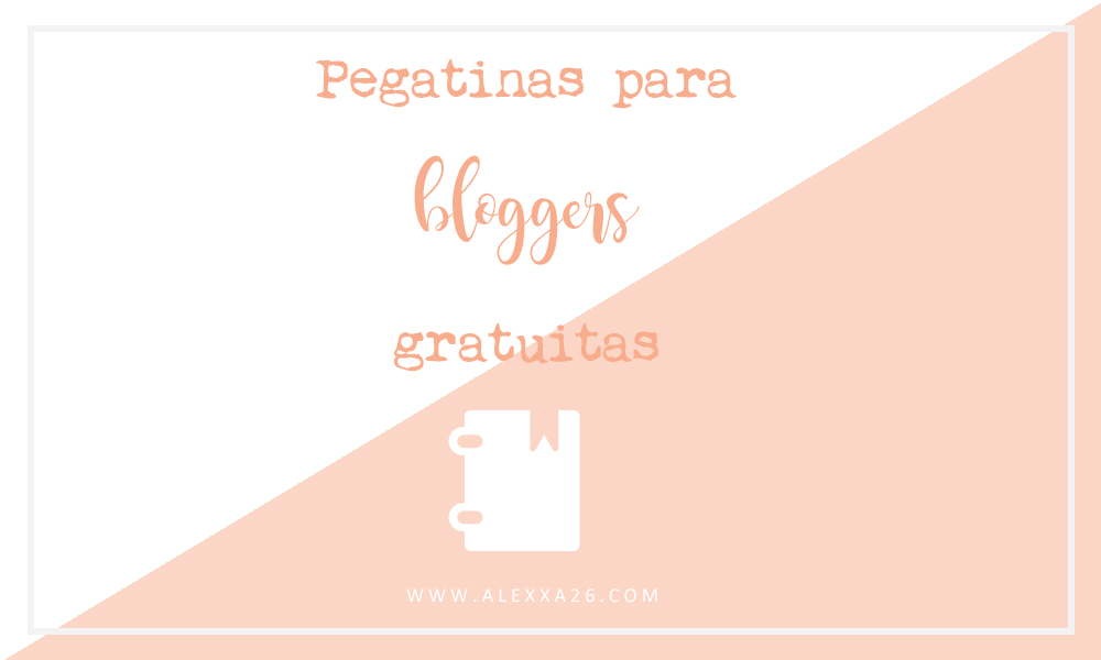 Pegatinas gratuitas para bloggers