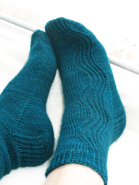 Kalajoki Socks Free Knitting Pattern