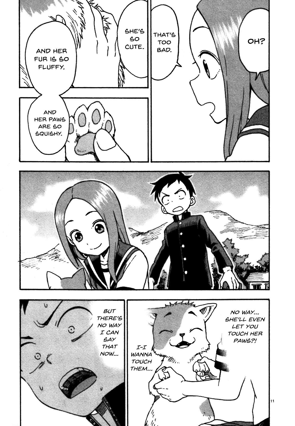 Karakai Jouzu no Takagi-san - Chapter 43